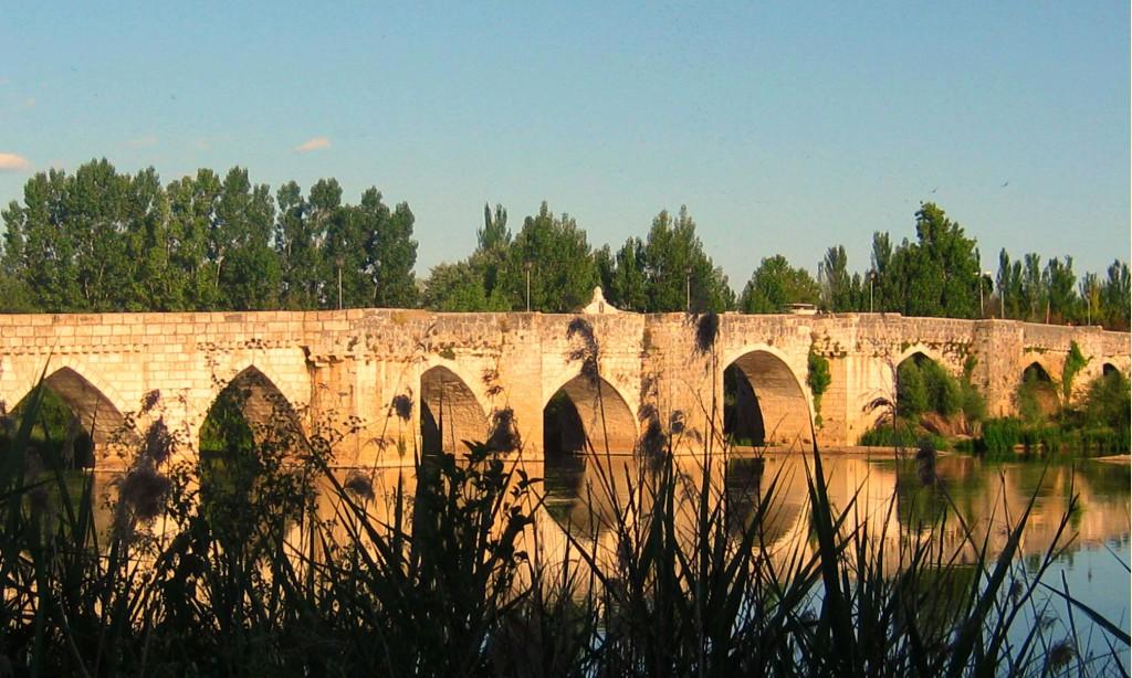 Puente de CabezA?n de Pisuerga (Valladolid). Autora.- Rosario Pato